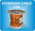 CSA extension cable for load weighing sensors by MICELECT
