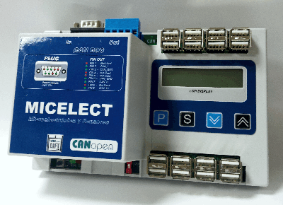 LM-CANopen DISPLAY load weighing controller for elevators and lifts by MICELECT