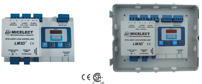 LM3D load weighing controller for elevators and lifts by MICELECT