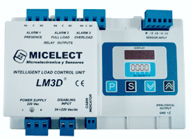 LM3D load weighing controller by MICELECT