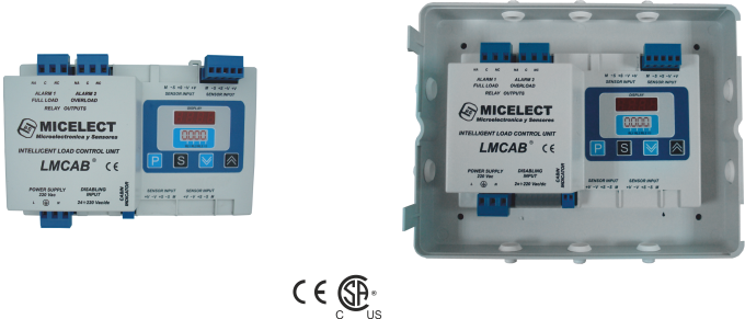 LMCAB load weighing controller for elevators and lifts by MICELECT