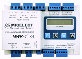 MWR-4 load weighing controller by MICELECT