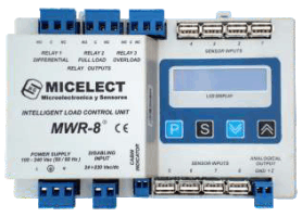 MWR-8 load weighing controller by MICELECT