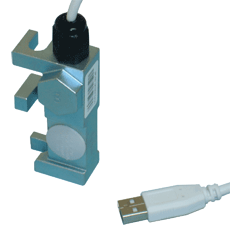 WR-USB load weighing sensor for elevator wire ropes by MICELECT
